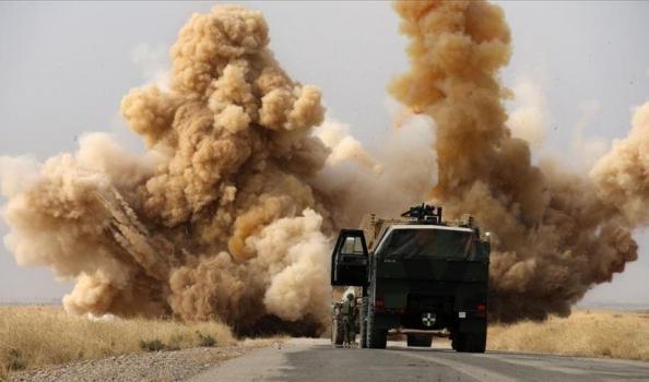 رابع هجوم يستهدف أرتال التحالف في العراق خلال أيام