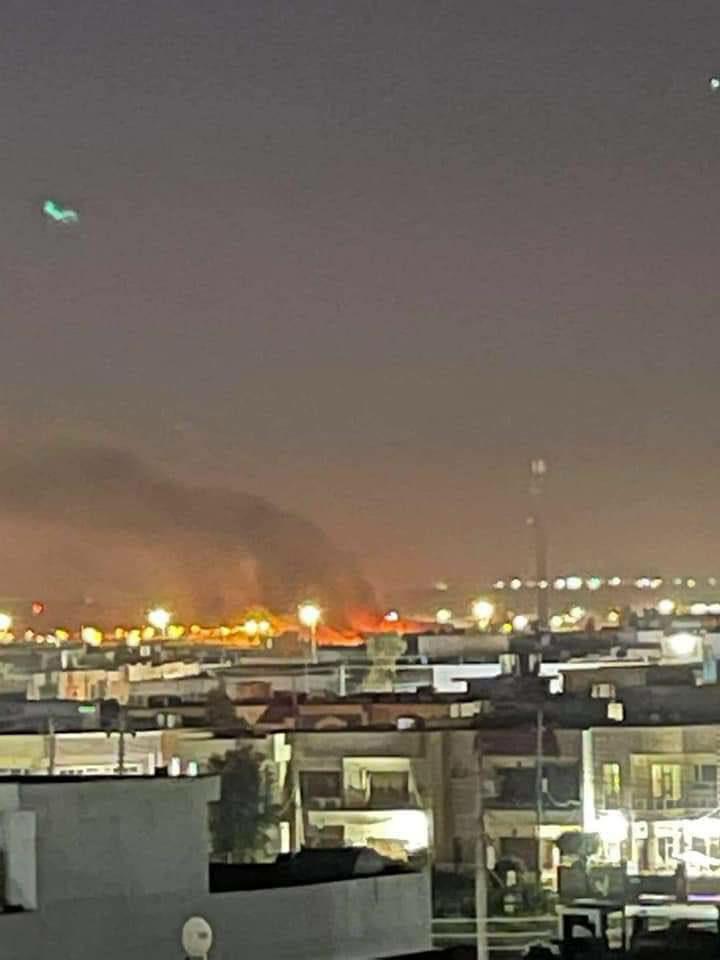 يعتبر الهجوم على مطار أربيل الدولي هو الثاني خلال شهرين