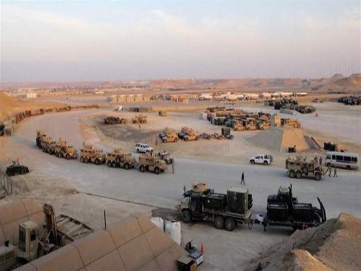 القوات الأمنية اعتقلت أربعة من مطلقي الصواريخ على قاعدة عين الأسد العسكرية